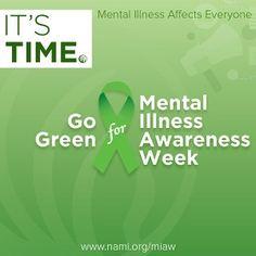 Mental Health Awareness Week October 3- 9th