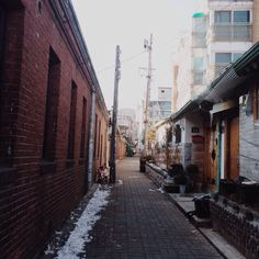 hstranger_ / #vscocam #체부동 #골목 #겨울 #winter / 서울 종로 체부 / #길 #설비 / 2014 01 03 /
