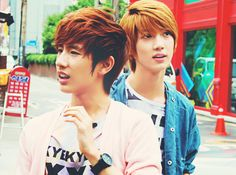 Minwoo and Youngmin <3