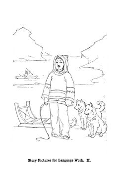 Inuit Boy And His Husky Dogs Coloring Page : Coloring Sky Turtle Coloring Pages, Puppy Coloring Pages, Summer Coloring Pages, Abstract Coloring Pages, Birthday Coloring Pages, School Coloring Pages, Pattern Coloring Pages, Mandala Coloring Pages, Printable Christmas Coloring Pages