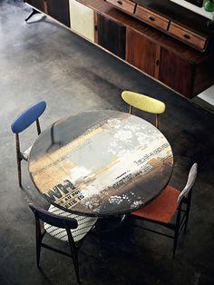 Designer: Draga Obradovic Fotógrafo: Fabrizio Cicconi Fonte: Elle Decoration Uk Outubro 2012 - table