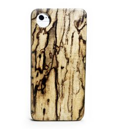 Spalted Maple iPhone Kerf Case
