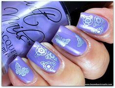 Cult Nails: Charming - by Boombastic Nails : Her son choose this design