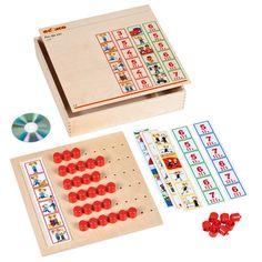 --- pin de zin --- 523 189 Pin de zin oefent de auditieve discriminatie van woorden in een zin. Kinderen leren de afzonderlijke woorden in een zin onderscheiden en geven het aantal woorden aan met behulp van de rode pinnen. De cd geeft de zinnen met een heldere instructie. Het materiaal heeft een duidelijke opbouw in moeilijkheidsgraad en is zelfcontrolerend. Inhoud: houten spelbord, 6 kaarten (met elk 6 tekeningen), 50 rode pinnen en een cd. Formaat kist: 35 x 35 x 6 cm (l x b x h).