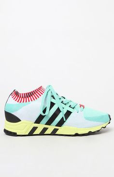 EQT Support RF Primeknit Green & Black Shoes