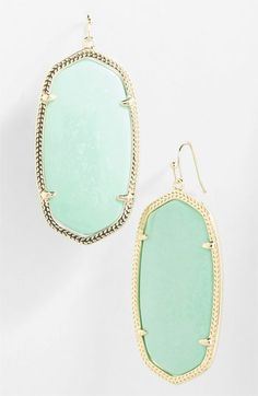 Kendra Scott 'Danielle' Oval Statement Earrings | Nordstrom