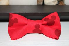 Adorable Mickey Mouse Boy's Bow Tie One by CraftedWithCharm Clip On Bow Ties, Boys Bow Ties, Dapper Day Disneyland, Baby Cooking, Mickey Party, Disney Bound, Wedding Groom, Theme Ideas, 3rd Birthday