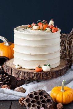 Pumpkin Spice Latte Cake | livforcake.com