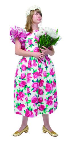 1980 -VICTOR COSTA, made in USA, une robe avec des grosses fleurs en imprimé sur du coton, collection privée © Solo-Mâtine Corset, Lingerie, Midi Skirt, Usa, Skirts, Vintage, Collection, Fashion, Cotton