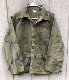 93237d3611a1a Vintage 1960's KAMO Camo Camouflage Tiger Stripe Shirt Medium? #fashion  #clothing #shoes