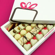 Bonbons Gemengd • Wit Middel | Voor de witte chocoladeliefhebber: geniet van onze heerlijke witte chocolade bonbons | doosjechocolade.nl