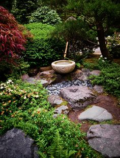 Japanese Garden of Portland stroll path by Jesse Schilling