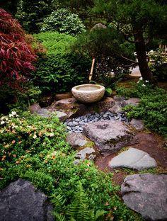 Japanese Garden of Portland stroll path by Jesse Schilling