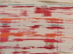 Coral Mirage Linen Swatch #theNAPKINmovement