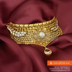 This spectacular necklace is surely an attraction which will add a premium look to any of your tradional attire.