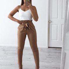 What looks do you want me to do next or like ? Comment below Work Boss Pants & Basic Crop Top from my store Use the code LONGWKD for off everything Office Attire, Work Attire, Basic Crop Top, Australian Fashion, Pants Outfit, Latest Trends, Casual Outfits, Womens Fashion, Style Fashion