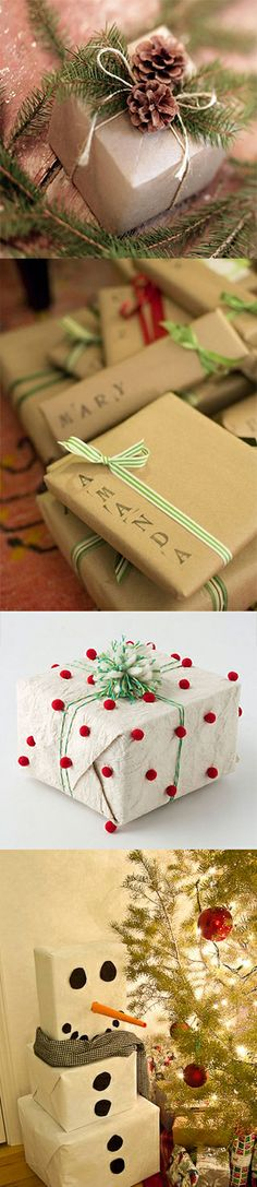 4 Wrapping Ideas to help keep your holiday looking festive!