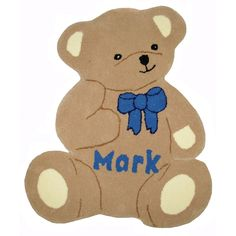Get the best price for Personalised Beige Teddy Bear Rug from Mail Order Rugs Bear Rug, Room Inspiration, Teddy Bear, Beige, Rugs, Animals, Fictional Characters, Farmhouse Rugs, Animales
