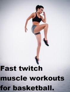 Developing your fast twitch muscle will give you that competitive edge over your opponents. Here are a list of workouts to help develop your basketball game Youtube Workout Videos, Abs Workout Video, Best Ab Workout, Kids Workout, Ab Workouts, Muscle Workouts, Mommy Workout, Workout Ideas, Workout Fitness