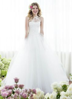Tulle Wedding Dress by Anna Schimmel | New Zealand