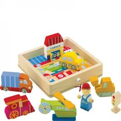 Transport Play Puzzle - Wooden Toys - Traditional Toys | Letterbox - £10 half price + £3.50 postage