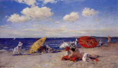 Chase, William Merritt At the seaside 218 Sun Unedited