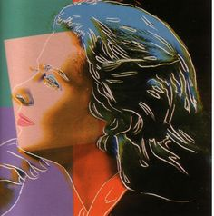 """Ingrid Bergman Herself II.313 1983"" 1983  Andy Warhol"