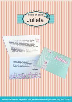 Verde y muchas flores para Julieta