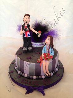 Justin Bieber Birthday Cake  Cake by ilovesweetsandcakes