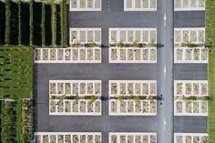 Car Park Design, Parking Design, Landscape Plaza, Urban Landscape, Architecture Panel, Landscape Architecture Design, Parking Plan, Grass Pavers, Honfleur