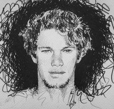 Pencil sketch to celebrate @john_john_florence 2016 @wsl #WorldChampion !!!  and winner of #meoripcurlpro #portugal  #johnjohnflorence #wsl #surfing #surfer #hawaiian #hawaii @johnjohnflorence #sketch #drawing #art @jeep @samsungmobile #2016 #Hurley