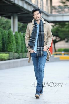 Photo of Godfrey for Burberry for fans of Godfrey Gao.