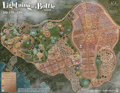 Festival Map | Lightning in a Bottle