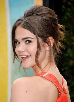 Beautiful Maia Mitchell from the Disney Channel Original movie Teen Beach Movie
