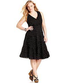Polka dot dress- Macy's