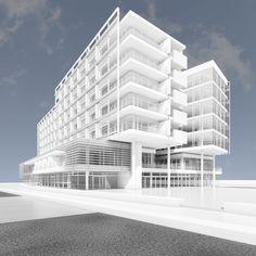 Jesolo Lido Hotel – Richard Meier & Partners Architects