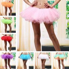 Sukně | Tylová TUTU sukně 5 vrstev výběr barev | Dámské oblečení a doplňky - poštovné zdarma.