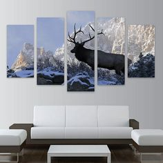 Elk/Nature HD Can... : http://homewalldeco.com/products/elk-nature-hd-canvas-wall-art-free-shipping?utm_campaign=social_autopilot&utm_source=pin&utm_medium=pin