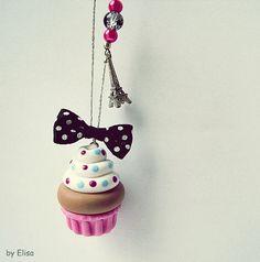 fimo cupcake.