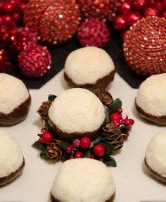 Kokosové kuličky v čokoládě