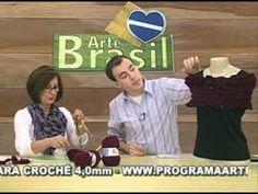 ARTE BRASIL - CLAUDIA MARIA - ESTOLA EM TRICÔ (31/05/2011 - Parte 2 de 2)