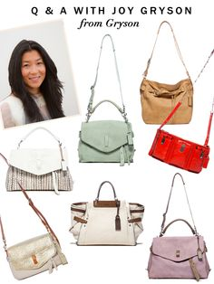 Q&A: Joy Gryson Of Gryson Handbags