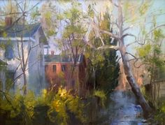 Oil painting art videos on how to paint light and street scenes from Kenn Backhaus, a nationally acclaimed artist and workshop teacher Abstract Portrait, Abstract Art, Dappled Light, City Scene, Watercolour Tutorials, Watercolor Landscape, Artist Art, Art Techniques, Cool Art