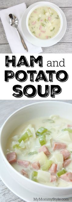 This ham and potato soup has been my favorite soup recipe for years! It is a 30 minute meal that doesn't call for many ingredients and it tastes delicious. It's a perfect recipe for leftover ham!