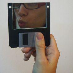 Floppy disk mirror