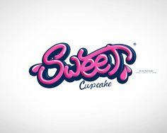 Cupcakery logo design: Sweet Cupcake