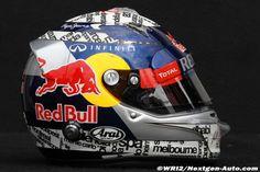 F1 - Portraits et casques des pilotes 2012