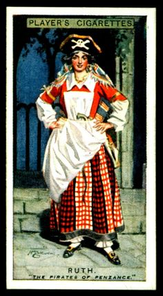 "https://flic.kr/p/h1Sy22 | Cigarette Card - Ruth, Pirates of Penzance | Player's Cigarettes ""Gilbert & Sullivan"" (A series of 50 issued in 1925) #31 Ruth ~ The Pirates of Penzance"
