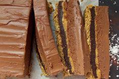 5 Layer No-Bake Chocolate Peanut Butter Cake [Vegan, Gluten-Free] | One Green Planet