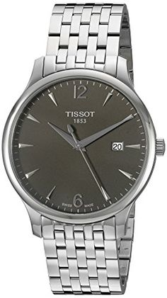 Tissot-Mens-T0636101106700-Silver-Tone-Stainless-Steel-Anthracite-Dial-Watch